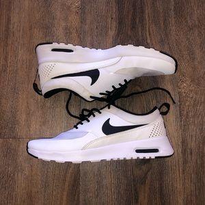 91f1431e0 New silver gladiator sandals ❤ White Nike AirMax Thea s ...